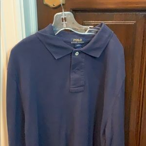 Polo long sleeve collard shirt